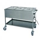 Thermische Ausgabewagen für Speisen