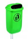 Abfallbehälter aus Kunststoff für Außenbereiche