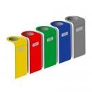Abfallbehälter für die Mülltrennung im Innenbereich
