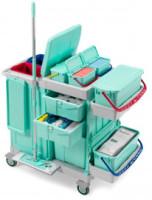 Reinigungswagen für Krankenhaus