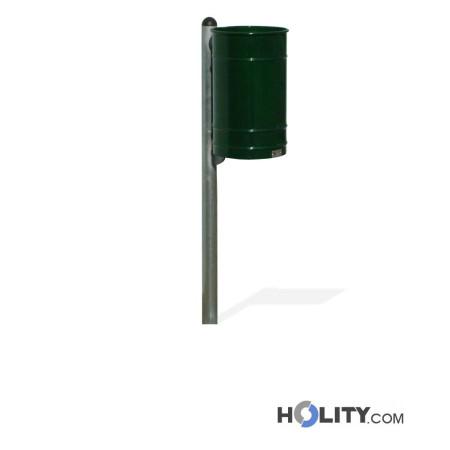Abfallbehälter mit RAL-Farbbeschichtung h140126