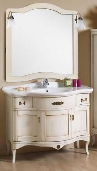 Badezimmerkommode weiß h11303