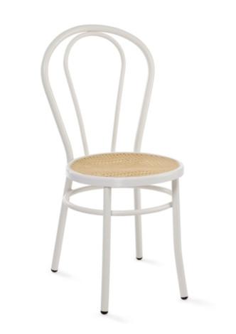 design stuhl mit sitzfl che mit stroheffekt h18805. Black Bedroom Furniture Sets. Home Design Ideas