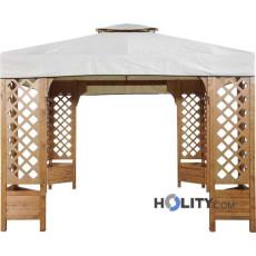 Holz-Pavillon h1432