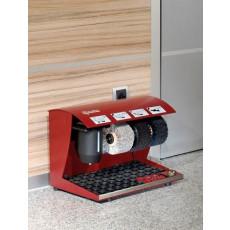 Automatische Schuhputzmaschine aus Stahl mit 3 Bürsten h14208