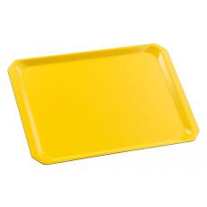 Tablett mit abgeschrägten Ecken aus Kunststofflaminat h28209