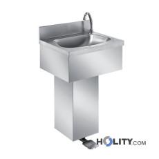 Waschbecken mit Fußpedal h31409