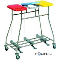 Wäschewagen für Krankenhaus h31503