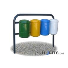 Abfallbehältersystem zur Mülltrennung h28718