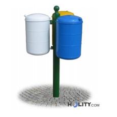 Abfallbehältersystem zur Mülltrennung h28719