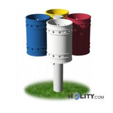 Abfallbehältersystem zur Mülltrennung h28720