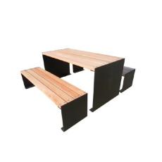 Set Picknick Tisch mit Bänken h109211