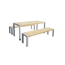 Picknick Tische und Bänke als Stadtmobiliar h109212
