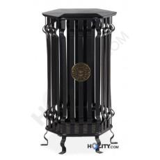 Standabfallbehälter mit elegantem Design h140130