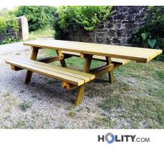 Picknicktisch mit erleichtertem Zugang h285_12