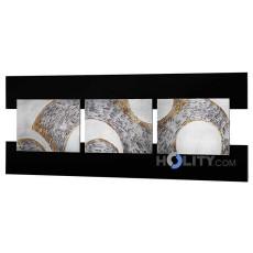 Quadratisches-Dekopaneel-aus-MDF-von-Hand-mit-Silberfolie-gestaltet-h11927