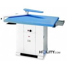 Tavolo da stiro termoaspirante professionale con braccio aspirante h13232