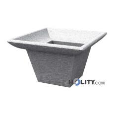 Vaso di design in polietilene h12718