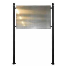 Werbetafel mit Aluminiumpaneel h109122