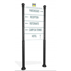 Anzeigetafel als Strassenbeschilderung h140220