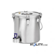 Bartscher Thermobehälter 20 Liter mit Ablasshahn h22011
