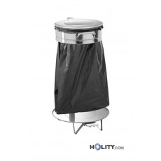 Abfalleimer, Müllsackhalter für Restaurants h09_206