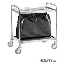 Servierwagen-mit-2-Öffnungen-für-Abfallsäcke-h09_216