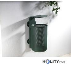 Abfallbehälter zur Wandbefestigung h10945