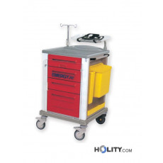 Medizinischer Notfallwagen h1352