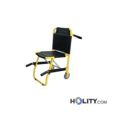 Faltbarer Patiententransport- und evakuierungsstuhl h13_83