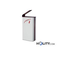 Metall-Abfallbehälter für die Mülltrennung h140139