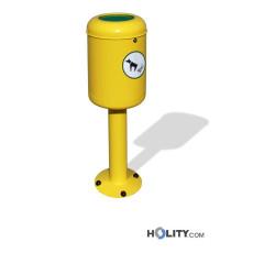 Hundetoilette - Abfallbehälter als Stadtmobiliar h140197