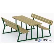 Set Picknick für öffentliche Gärten h140270