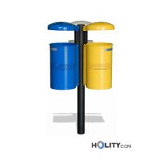 Abfallbehälter für die Mülltrennung h140276