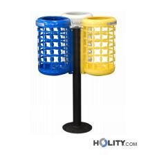 Abfallbehälter für die Mülltrennung h140278