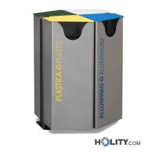 Abfallbehälter für die Mülltrennung h140280