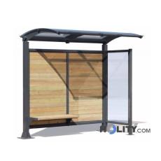 Überdachung Bushaltestelle als Stadtmobiliar h140295