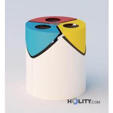 Abfallbehälter für die Mülltrennung h140_332