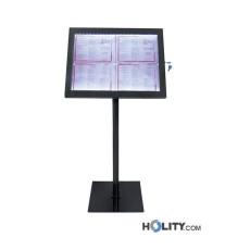 Speisekartenhalterung mit LED für Restaurants h148106