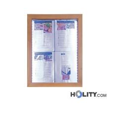 Speisekartenhalterung mit LED für Restaurants h148107