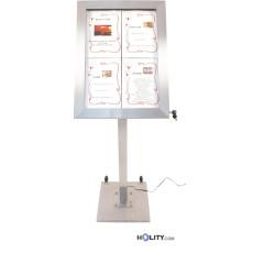 Speisekartenhalterung mit LED für Restaurant h14814