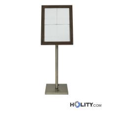 Speisekartenhalterung mit LED für Restaurant h148_134