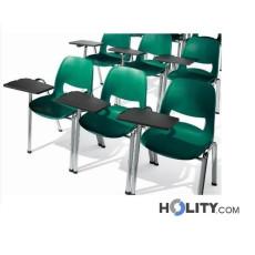 Konferenzstuhl mit Schreibplatte h15974