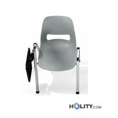 Konferenzstuhl mit Schreibplatte h15977