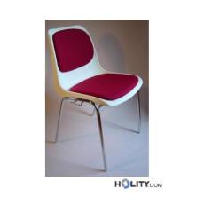 Konferenzstuhl mit Sitzpolsterung h17703