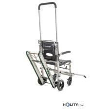 Patiententransport- und evakuierungsstuhl h20668