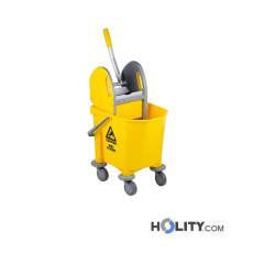 Profi Reinigungswagen mit Einzelwanne 25 Liter h2077