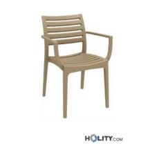 Design Outdoor Stuhl von X-Line h20921 mit Armlehnen
