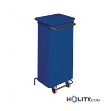 Beweglicher Abfalleimer mit 110 Liter Volumen h20_108