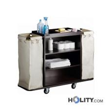 Zimmerservicewagen mit Gummi-Stoßschutz h21539